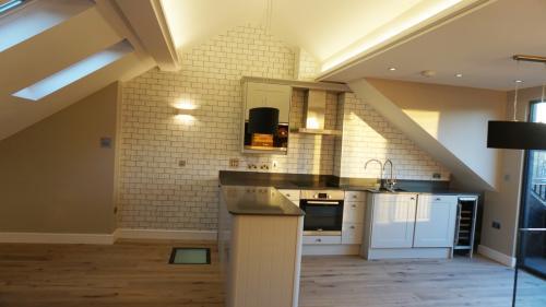Loft conversion kitchen