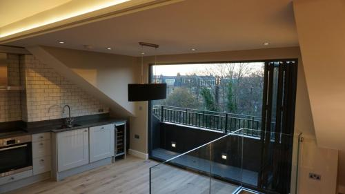 loft conversion with glazed balustrade