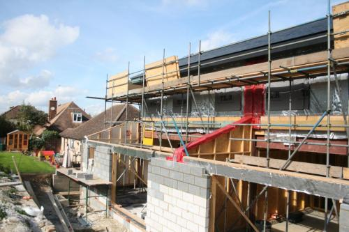 New build semi detached homes in Epsom