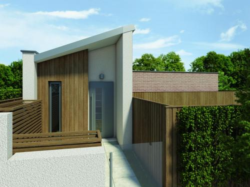 Design of a new dwelling in Enfield