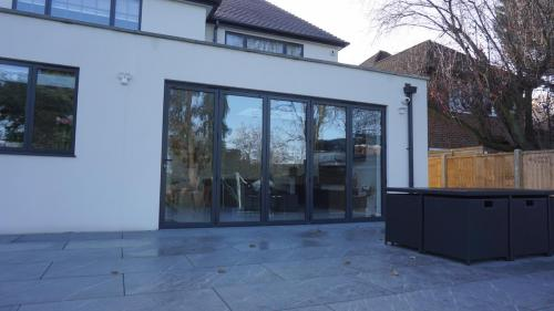 Bifolds on to patio