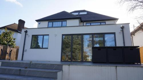 Doube storey extension in finchley