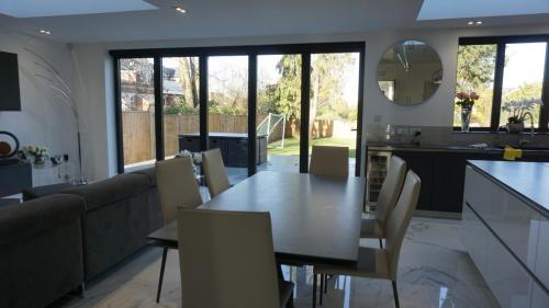 Kitchen extension in finchley (1)
