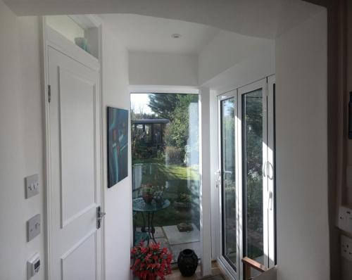 full height glazed extension