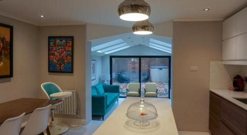 kitchen island house extension