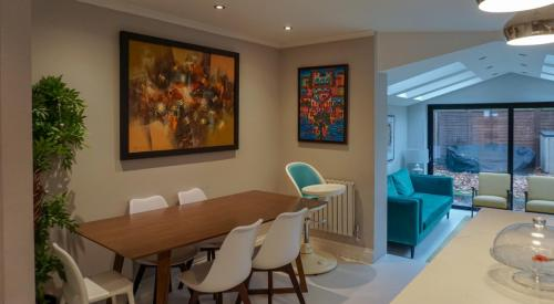 open plan living design in acton