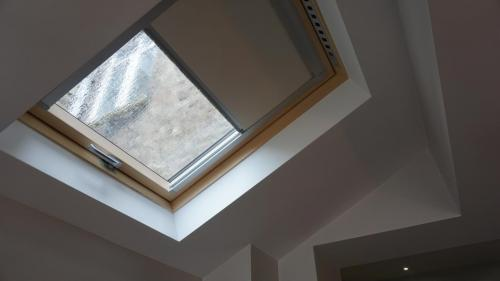 roof lights over side extension hammersmith