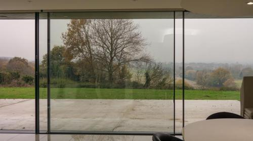 slim frame sliding doors